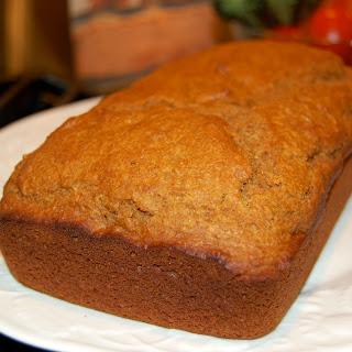 Whole-Wheat Pumpkin Bread.