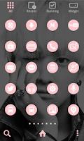 Screenshot of B1A4 - Baro LINELauncher Theme