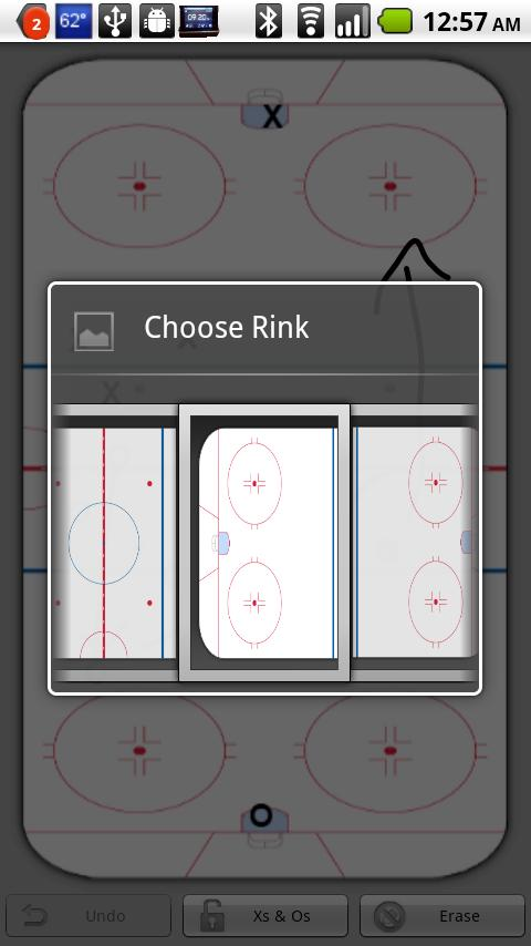 Hockey Strategy Board - screenshot
