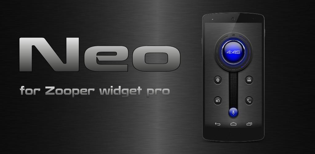 Download Neo for Zooper Widget Pro APK latest version app