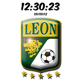 Club León Digital Clock