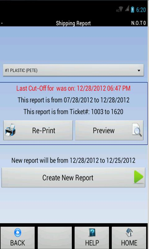 Weigh & Pay Recycling Software- screenshot