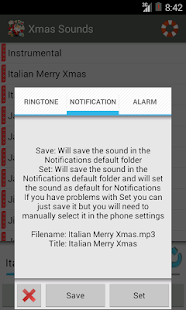 Xmas Ringtones New and Free - screenshot thumbnail