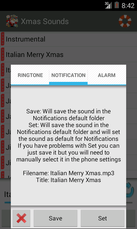 Xmas Ringtones New and Free - screenshot