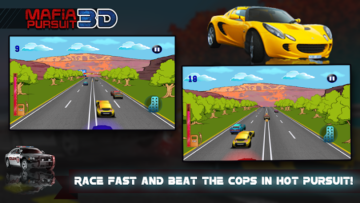 Mafia Pursuit 3D - screenshot