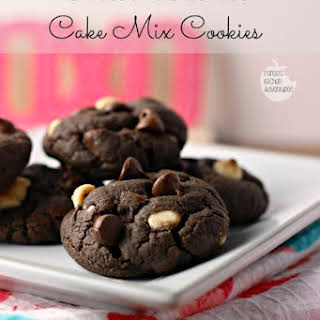 Chocolate Lover's Cake Mix Cookies.