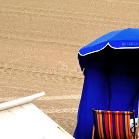Réservé ! by Delphine Jourdren - Landscapes Beaches