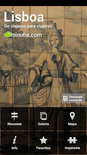 Lisboa Guía con mapa offline
