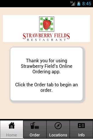 Strawberry Fields Dining