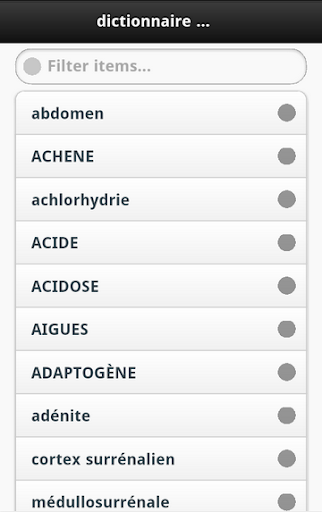 【免費醫療App】Dictionnaire Medical-APP點子