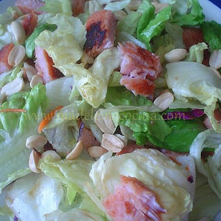 Teriyaki Steak Salad.