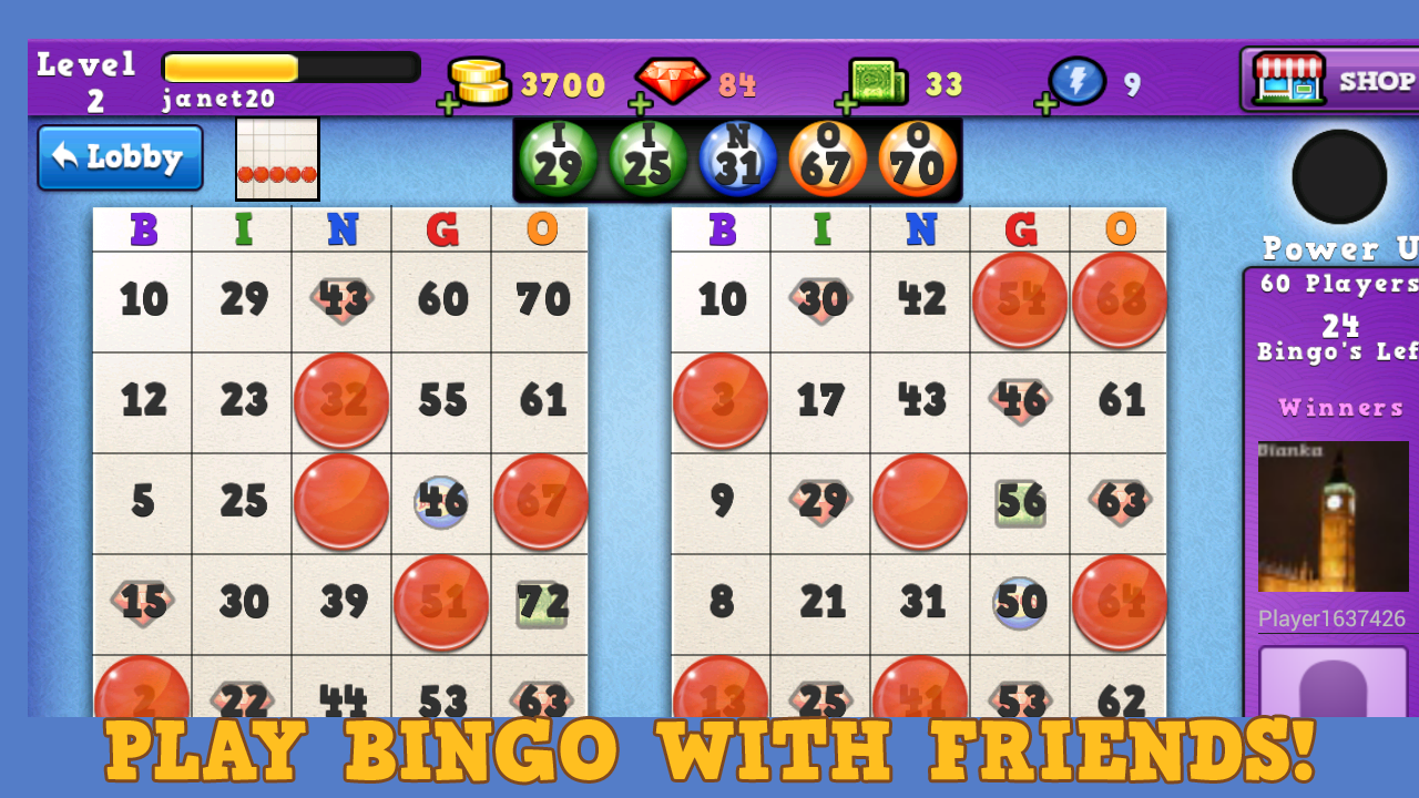 Bingo Summer Splash - screenshot