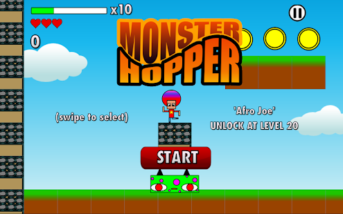 Monster Hopper- screenshot thumbnail