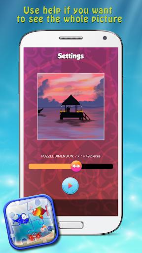 玩免費解謎APP|下載海洋拼圖為孩子 app不用錢|硬是要APP