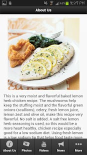 Baked Lemon Chicken - screenshot thumbnail