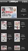 Screenshot of Milliyet Gazete