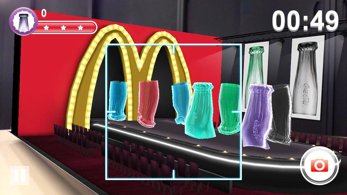 McDonald's Coca-Cola® Glass AR- screenshot