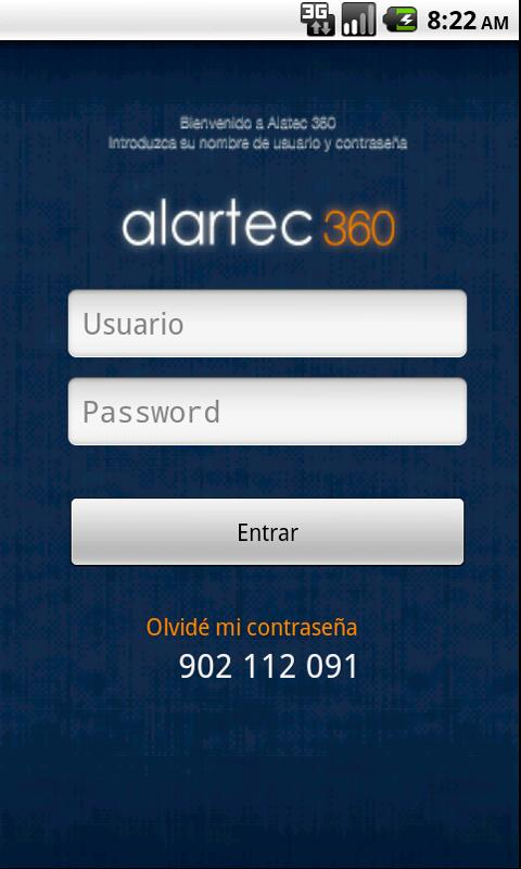 Alartec 360- screenshot