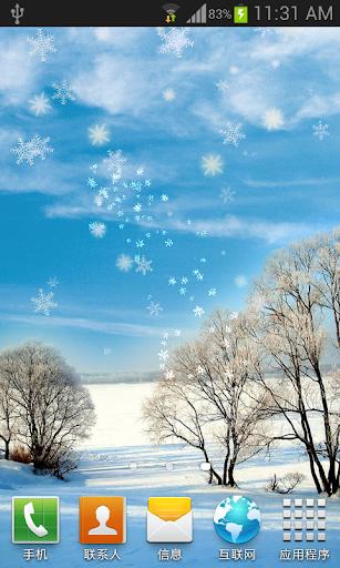 玩個人化App|冬季聖誕雪景動態桌布 FREE (PRO)免費|APP試玩