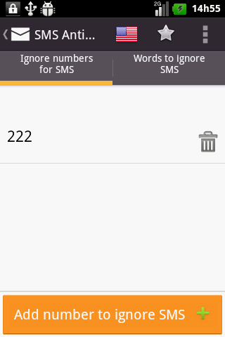 SMS AntiSpam droid - Security