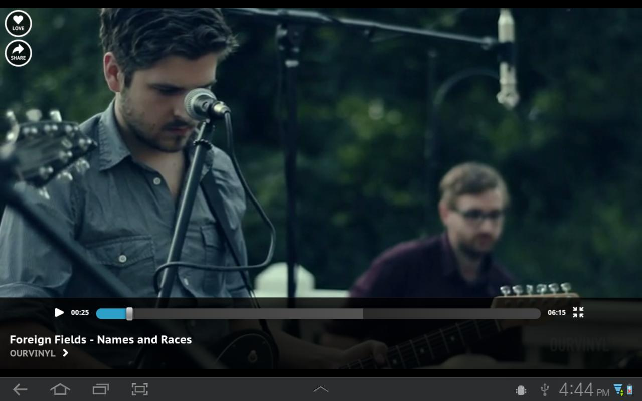 Blip TV - screenshot