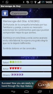 Horoscopo de hoy - screenshot thumbnail
