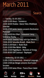 Internet Trance Music Radio screenshot 1