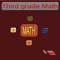 Third grade math icon
