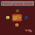 Third grade math icon