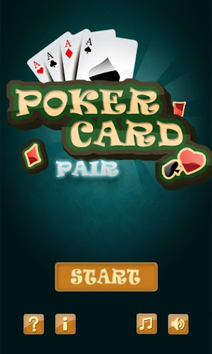 Poker Card Pair Full