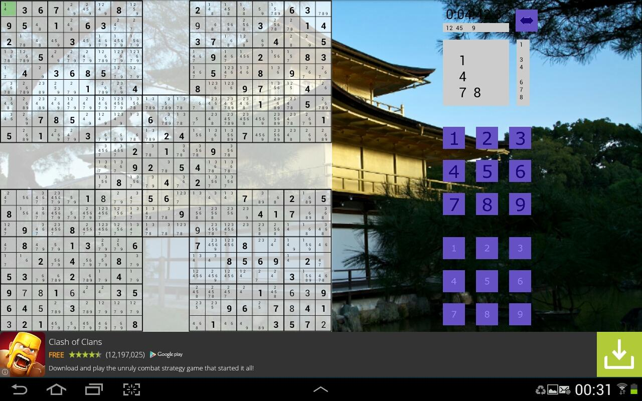 le grand sudoku applications android sur google play. Black Bedroom Furniture Sets. Home Design Ideas