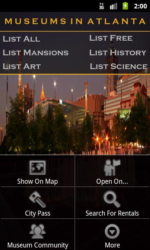 Museums In Atlanta- screenshot