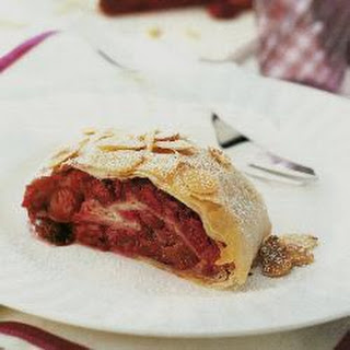 Cherry And Almond Strudel
