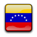 Venezuela Flag Clock Widget icon