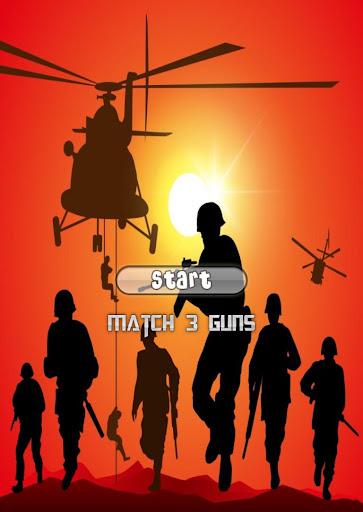 Match 3 Guns