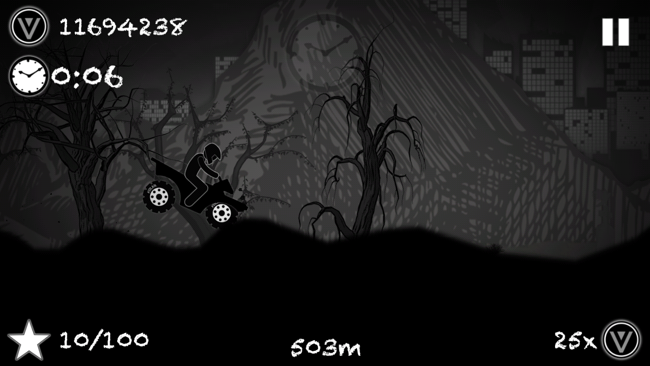 Hill Racing To Limbo - screenshot