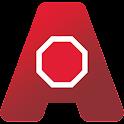 Emery-Go-Round: AnyStop logo