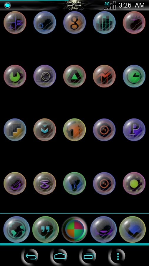 NeoGlaSs ICONS - screenshot