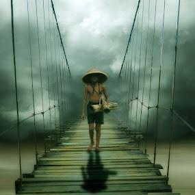 Berteman Sepi by Cucu Fuang - Digital Art People