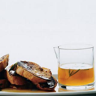 Rosemary Orange Syrup.