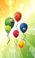 Screenshot of balloon game