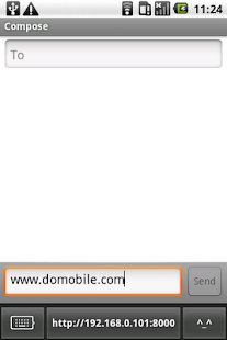 DoMobile ShareKeyboard - screenshot thumbnail