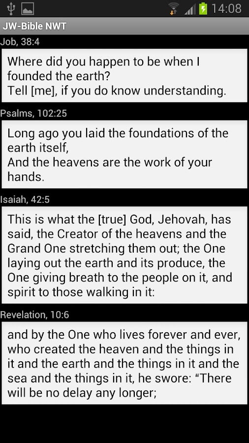 JW-Bible NWT - screenshot