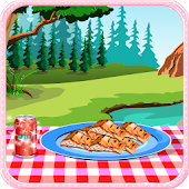 Grilled fish cooking games