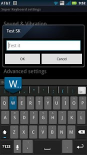 ICS Keyboard Skin - screenshot thumbnail