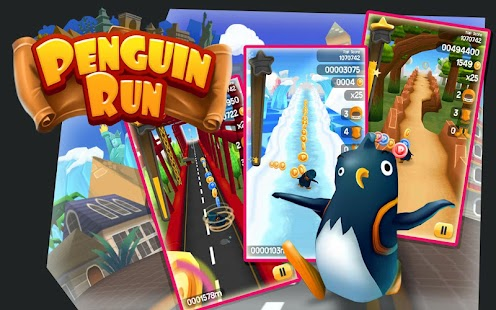 Penguin Run - screenshot thumbnail