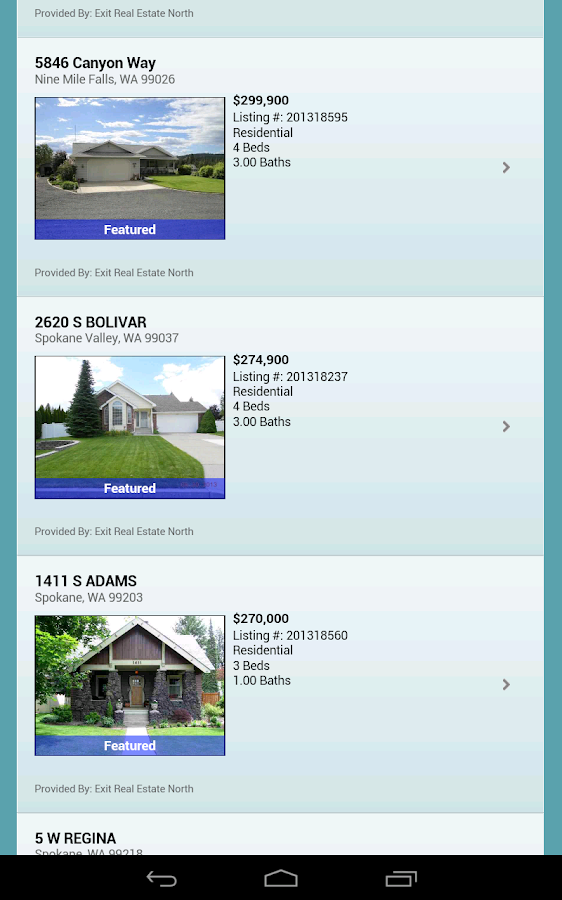 Spokane Audubon Park Homes- screenshot