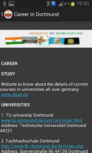 Indians in Dortmund