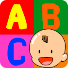 Baby ABC Animals Touch Game icon