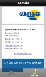 Günthner FLEXI Produktfinder- screenshot thumbnail